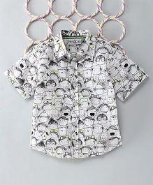Popsicles Clothing By Neelu Trivedi Zombi Shirt - White