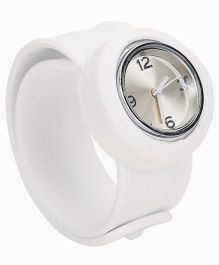 Analog Wrist Watch - White