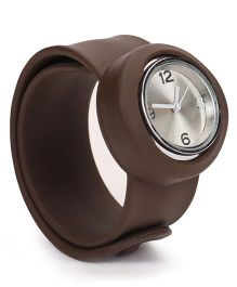Analog Wrist Watch - Coffee Brown