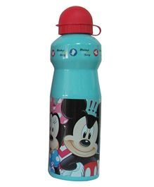 Mickey Mouse Print Sipper Water Bottle Blue Red - 750 ml