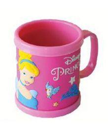 Disney Princess Embossed Mug Plastic - Pink