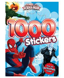 SpiderMan 1000 Stickers - English