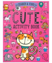Search And Find Cute Activity Book - English