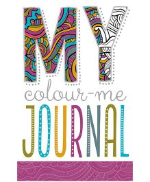Color Me Journal And Bookmarks - English