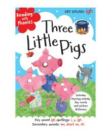 Reading With Phonics Three Little Pigs - English