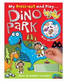 Press Out And Play Dino Park - English