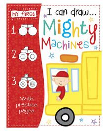 I Can Draw Mighty Machines - English