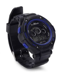 Digital Wrist Watch - Black