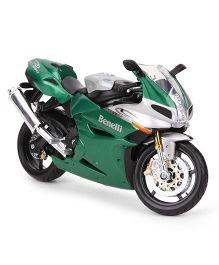 Maisto Benelli Tornado 1130 Die Cast Toy Bike - Green