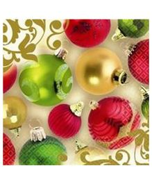 Bling It On Merry Moments Lunch Napkins - 16 Pieces