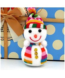 Bling It On Snowman Christmas Ornament  White - Big