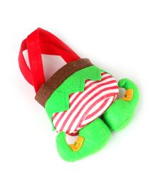 Bling It On Candy Gift Bag - Green Red