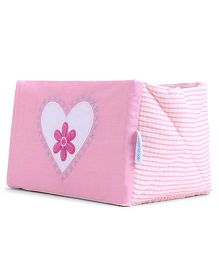 Abracadabra Embroidered Cot Utiity Box - Pink