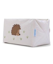 Abracadabra Embroidered Cot Utiity Box - Cream Brown