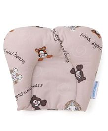 Abracadabra Printed U Shaped Pillow - Brown