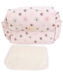 Abracadabra Printed Diaper Bag - Khaki