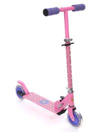 Starwalk 2 Wheels Scooter Crown Print - Pink