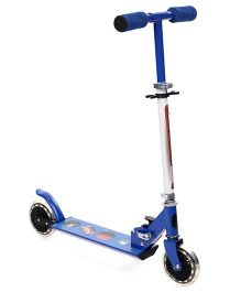 Starwalk 2 Wheels Scooter Sports Balls Print - Blue