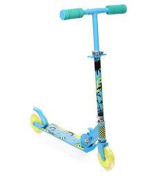 Starwalk 2 Wheels Scooter Grind Print - Blue