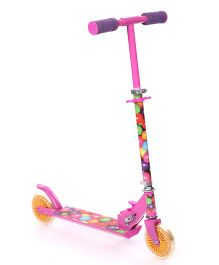 Starwalk 2 Wheels Scooter Balloons Print - Pink