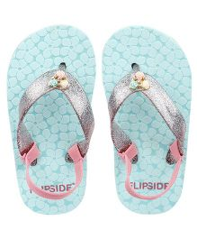Flipside Kids Little Princess Slippers - Green