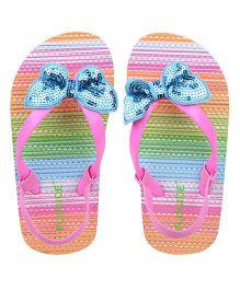 Flipside Kids Glitter Slipper - Pink