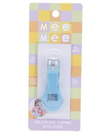 Mee Mee Nail Cutter With Cover - Blue