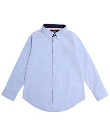 One Friday Formal Full Sleeve Shirt - Light Blue