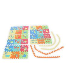 Funjoy Kids Puzzle Play Mats English Alphabets A To Z Upper And Lower Case 30 Tiles (Color May Vary)