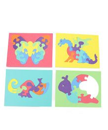 Jigsaw Puzzles Animals & Birds Dino Sea Horse Snail & Butterfly - 6 8 10 11 Pieces
