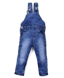 Olio Kids Full Length Dungaree - Dark Blue