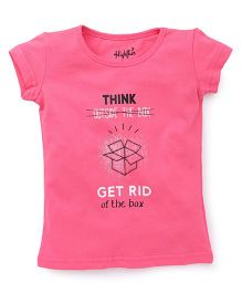 Highflier Think T-shirt - Pink