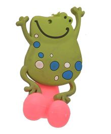 Buddyboo Tooth Brush Holder Frog Design - Pink