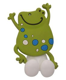 Buddyboo Tooth Brush Holder Frog Design - White