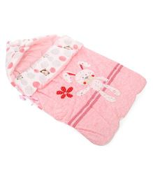 Mee Mee Hooded Carry Nest - Pink