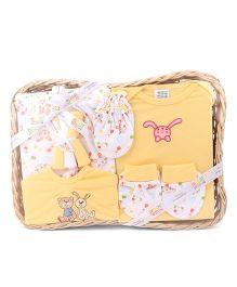 Mee Mee Baby Gift Set Yellow -  8 Pieces