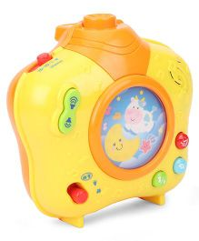Winfun Baby Dreamland Soothing Projector- Yellow Orange