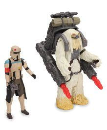 Funskool Star Wars Squad Leader Action Figure Pack Of 2 White - 9.5 cm and 11 cm