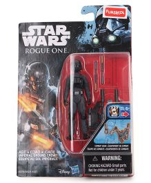 Funskool Star Wars Rogue One Imperial Ground Crew Figure - Black