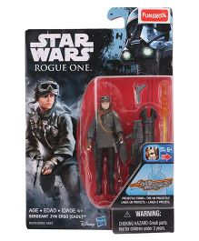 Funskool Star Wars Rogue One Jyn Erso Figure - Black