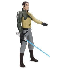 Funskool Star Wars Kanan Jarrus Action Figure - Green