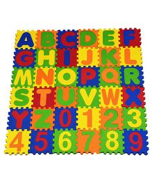 Cutez Alpha Numeric Puzzle Mat Small - 36 Pieces