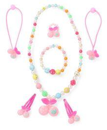 Adores Beads & Cherry Kids Jewellery - Pink