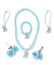 Adores Set Of 4 Beads Kids Jewellery - Blue