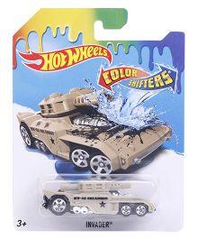 Hot Wheels Color Shifter Car Invader - Beige