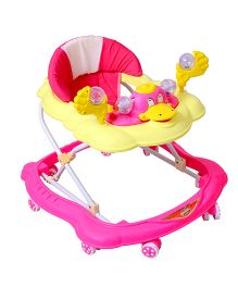 Cosmo Baby Walker Pink Yellow - CTI 08
