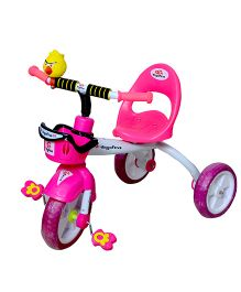 Cosmo Tricycle With Basket Pink - CTI 62