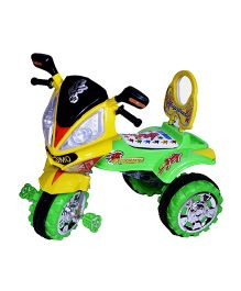 Cosmo Tricycle Green Yellow - CTI 02