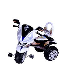 Cosmo Tricycle White Black - CTI 43