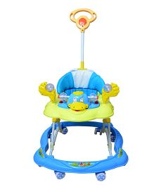 Cosmo Baby Walker With Push Handle Pink - CTI 62